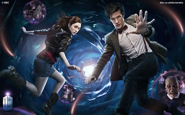 Doctor Who Series Five promo art