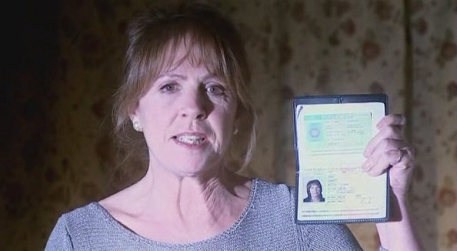 Penelope Wilton as Doctor Who ally Harriet Jones