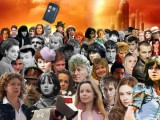 Collage of Doctor Who characters