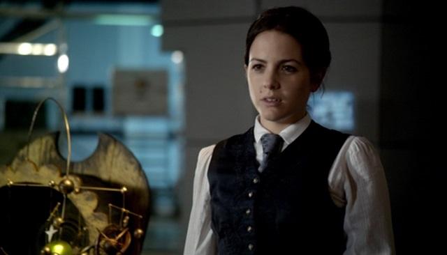Catrin Stewart as Doctor Who ally Jenny Flint