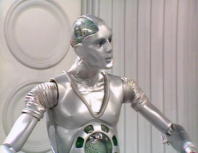 Doctor Who Companion Kamelion aboard the TARDIS