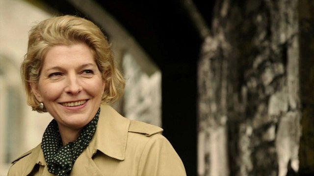 Jemma Redgrave as Doctor Who ally Kate Stewart