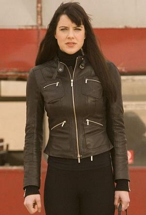 Michelle Ryan as Doctor Who ally Lady Christina de Souza