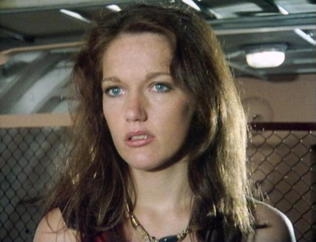 Louise Jameson as Doctor Who Companion Leela