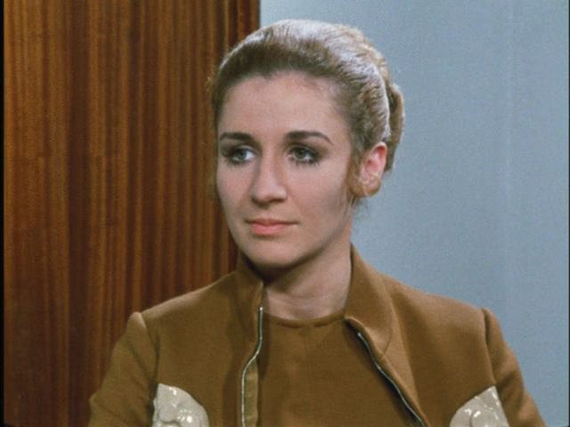 Caroline John as Doctor Who Companion Liz Shaw