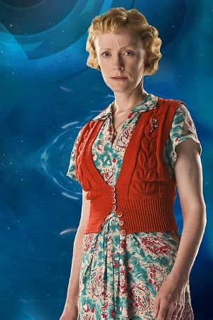 Claire Skinner as Madge Arwell from Doctor Who, promo pic
