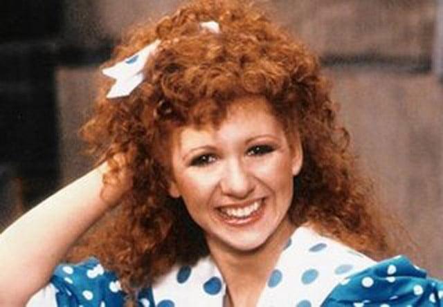 Bonnie Langford as Doctor Who Companion Mel