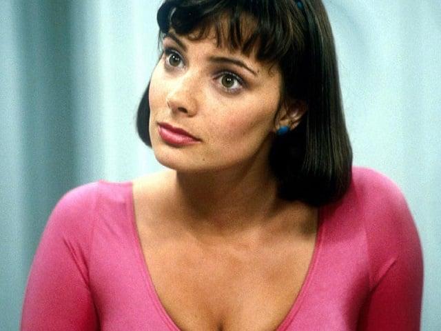 Nicola Bryant as Doctor Who Companion Peri