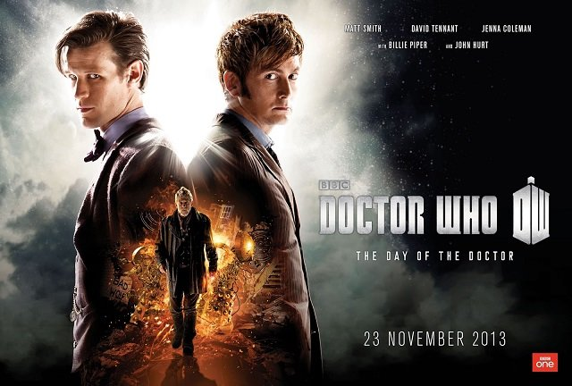 Promo poster for Doctor Who's 50th Annivesary Special, The Day of the Doctor