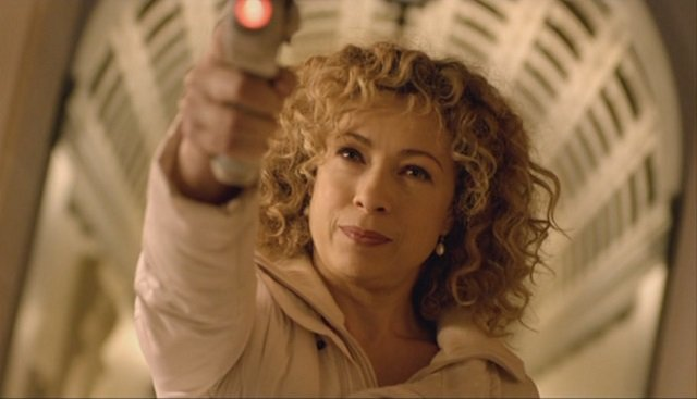 Alex Kingston as Doctor Who Companion River Song