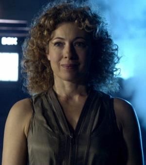 Alex Kingston as Doctor Who Companion River Song