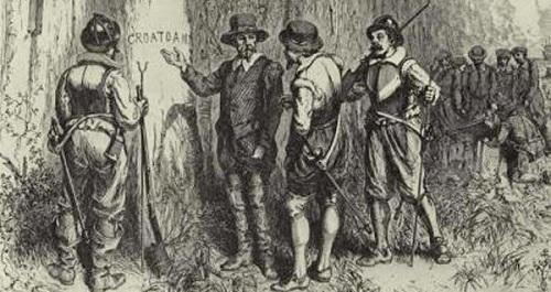 Discovery of Croatoan at Roanoke