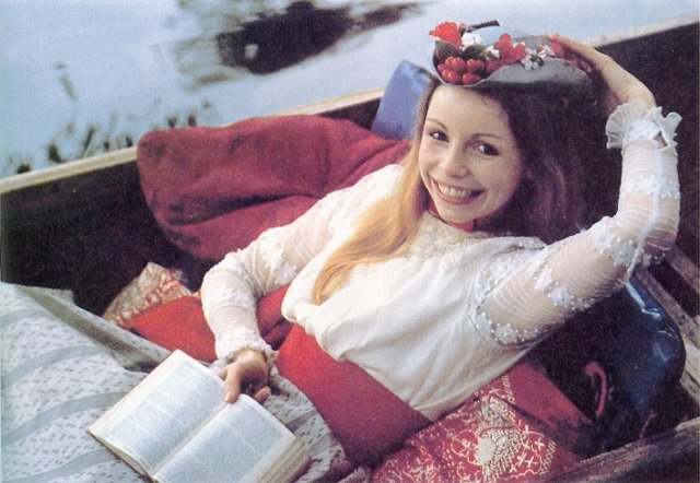 Lalla Ward as Doctor Who Companion Romana II