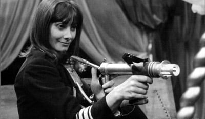 Jean Marsh as Doctor Who Ally Sara Kingdom