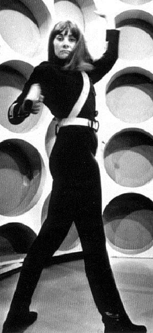 Jean Marsh as Doctor Who Ally Sara Kingdom