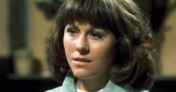 Elisabeth Sladen as Doctor Who Companion Sarah Jane Smith
