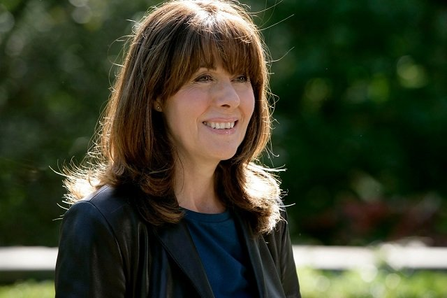 Elisabeth Sladen as Doctor Who Companion Sarah Jane Smith