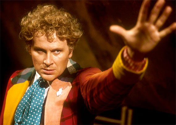Colin Baker as Doctor Who's Sixth Doctor