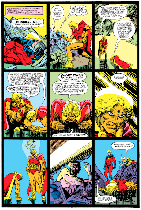 The Strange Death of Adam Warlock from Avengers Annual #11