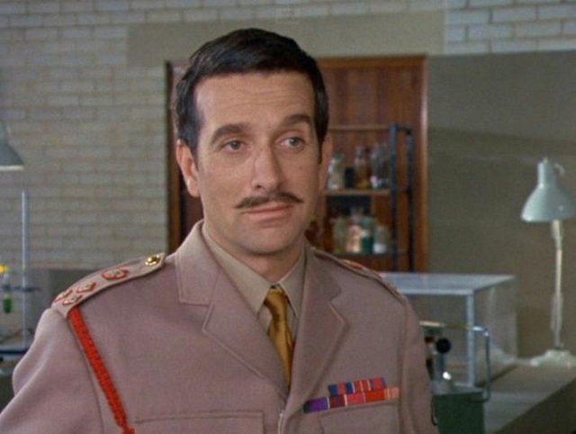 Nicholas Courtney as Doctor Who Companion The Brigadier