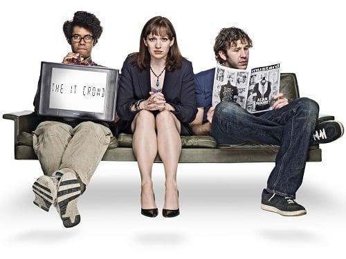 The IT Crowd cast photo