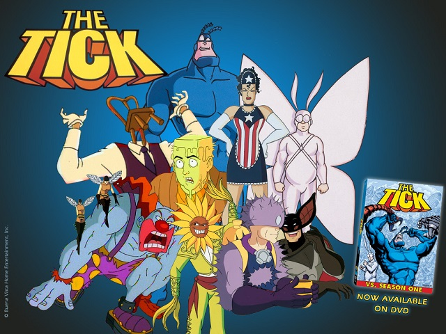 The Tick season 1 DVD ad
