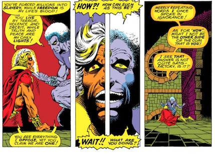Adam Warlock vs the Magus