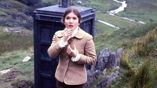 Deborah Watling as Doctor Who Companion Victoria
