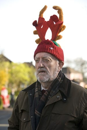 Bernard Cribbins as Doctor Who ally Wilfred Mott