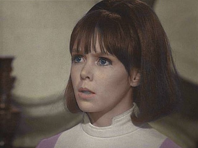 Wendy Padbury as Doctor Who Companion Zoe Heriot