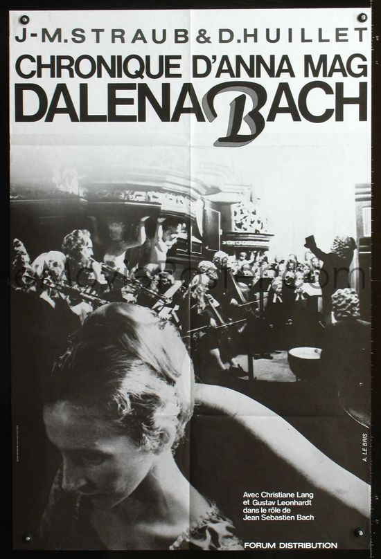 The Chronicle of Anna Magdalena Bach poster