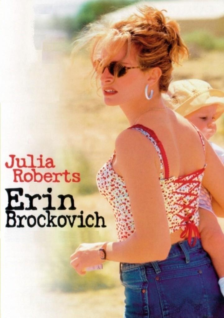 Erin Brockovich poster, Julia Roberts