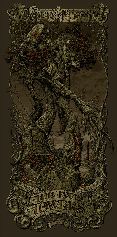 Aaron-Horkey-The-Two-Towers-Variant