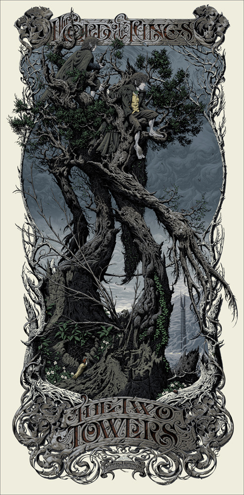 Aaron-Horkey-The-Two-Towers