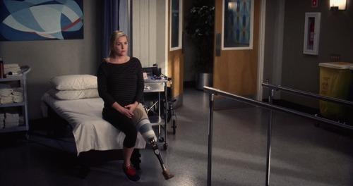 Jessica Capshaw in Grey's Anatomy