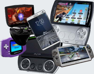 gaming devices resident to play