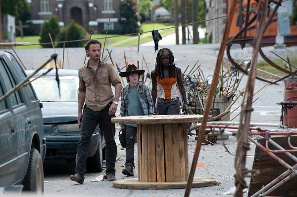 "The Walking Dead promo pic, ""Clear"""