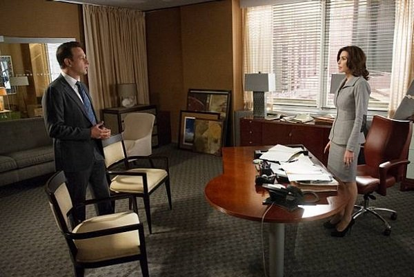 """The Good Wife promo pic, """"Hitting the Fan"""""""