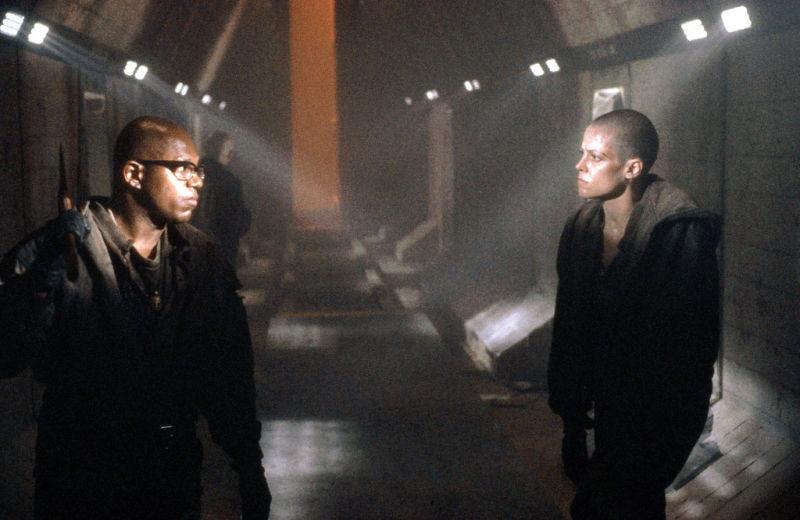 Charles S. Dutton & Sigourney Weaver in Alien 3 (1992)
