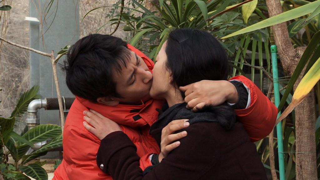 oki's movie - oki and jingu share a kiss