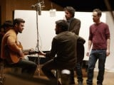 Justin-Timberlake-Oscar-Isaac-and-the-Coen-brothers-on-set-of-Inside-Llewyn-Davis-585x390
