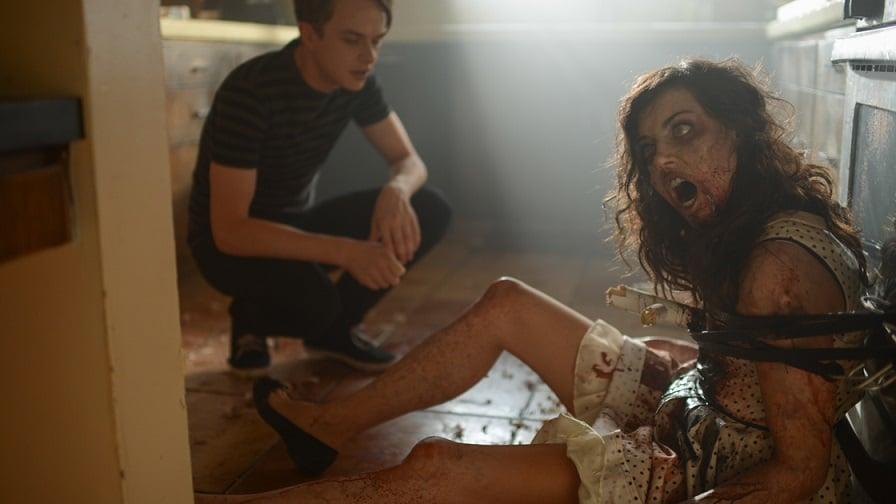 "Aubrey Plaza and Dane DeHaan in ""Life After Beth"""