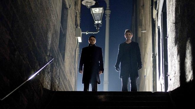 Alastair Mackenzie & Dougray Scott in New Town Killers (2008)