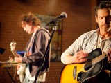 "Billy Crudup and Anton Yelchin in William H. Macy's directorial debut ""Rudderless"""