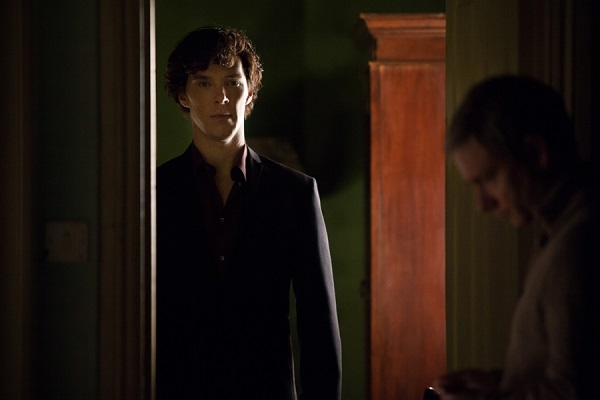"Sherlock promo image, S03E01, ""The Empty Hearse"""