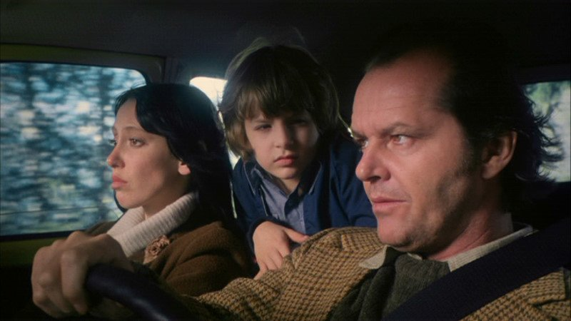 Shelley Duval, Danny Lloyd & Jack Nicholson in The Shining (1980)