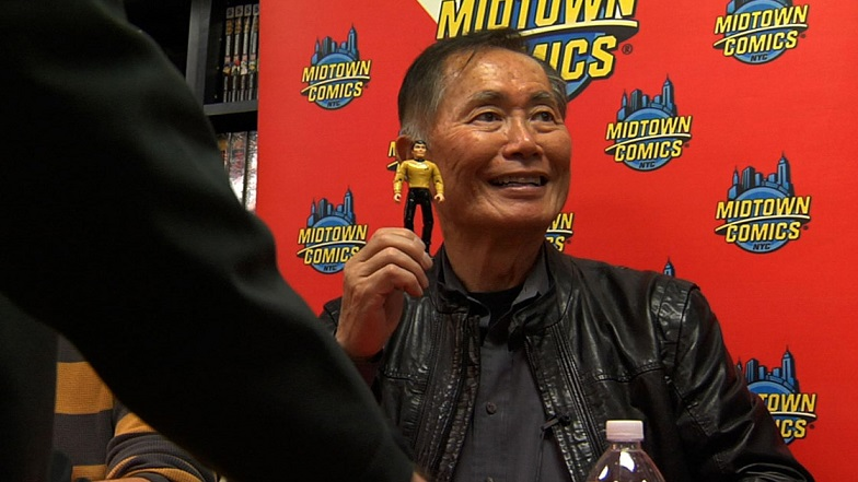 """The charismatic George Takei presides over a faithful fandom in """"To Be Takei"""""""