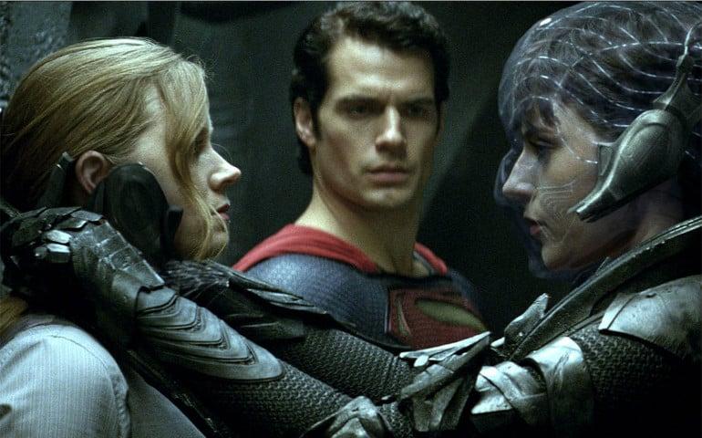 Amy Adams, Henry Cavill & Antje Traue in Man of Steel (2013)