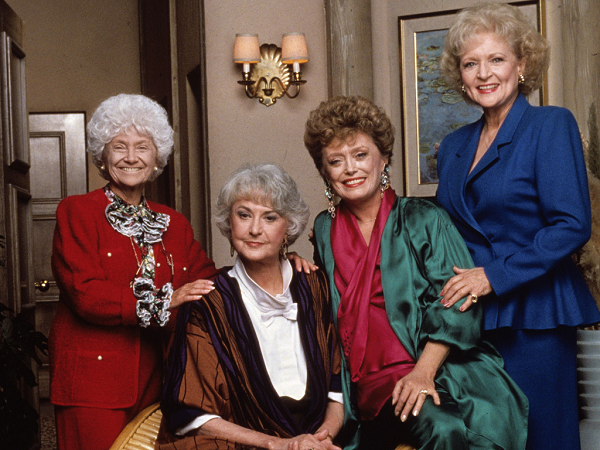 The Golden Girls cast photo