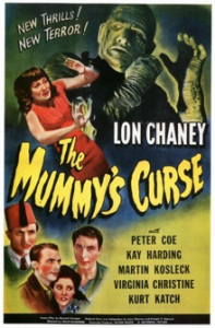 The Mummy's Curse Poster